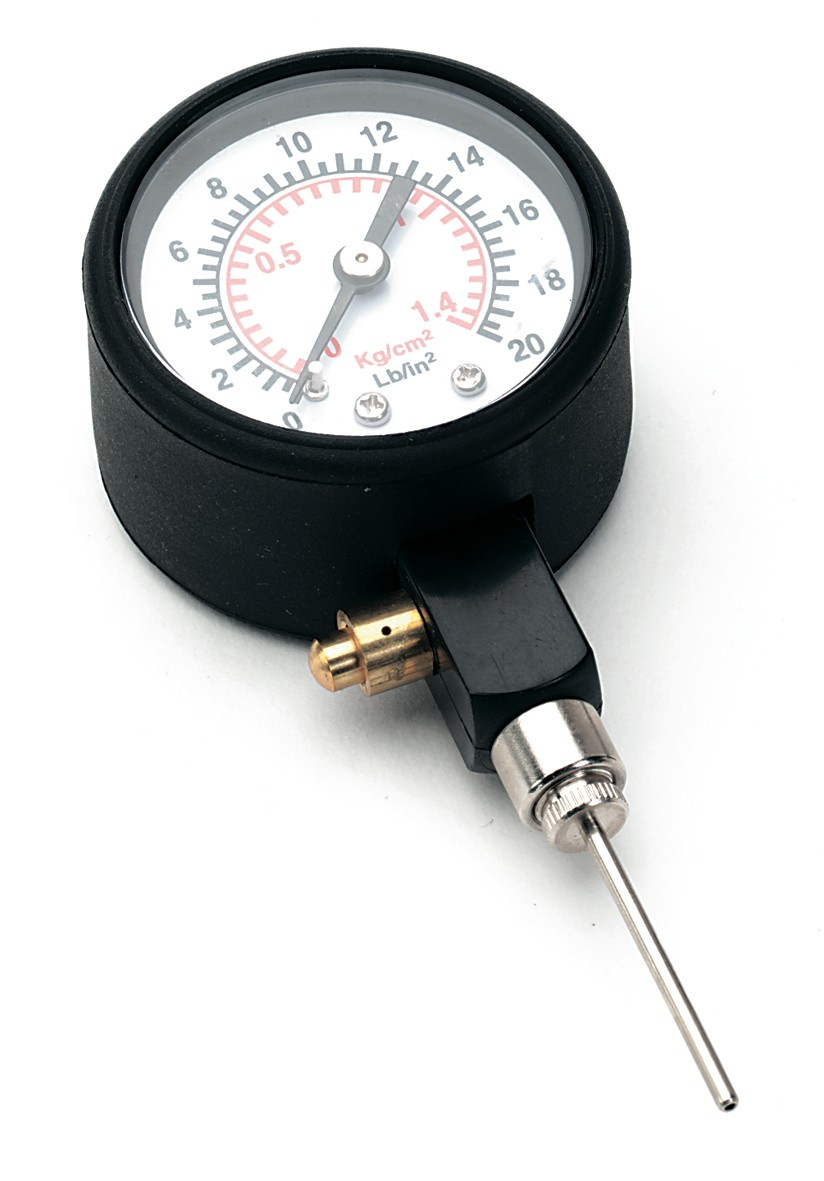 pressure gauge for basketball standard equipment tool for checking pressure in a basketball ball