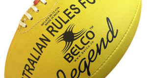 Australian Rules Football Legend yellow Australian football ball standard equipment for Australian football