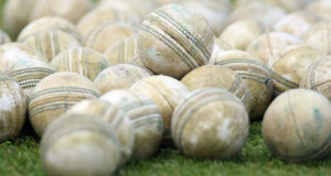pile of regulated cricket balls this is what the ball equipment looks like for cricket