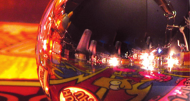 pinball ball with the reflection of the pinball game on the small metal ball basic ball equipment standard metal ball